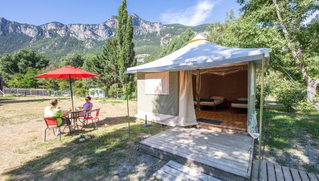 camping près de briancon