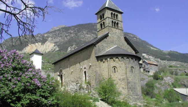 Chapelle près du camping les Ecrins