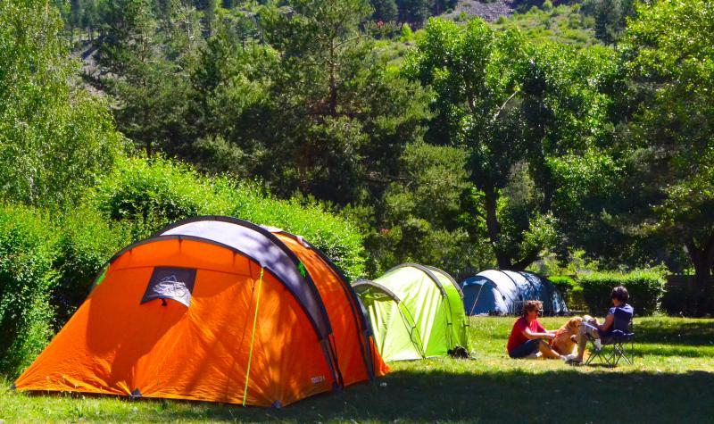 Emplacement tente près de Briancon