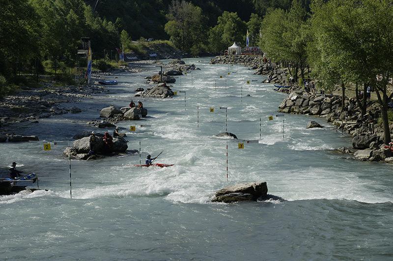 stade d'eau vive de l'Argentière la Bessée - Hautes-Alpes