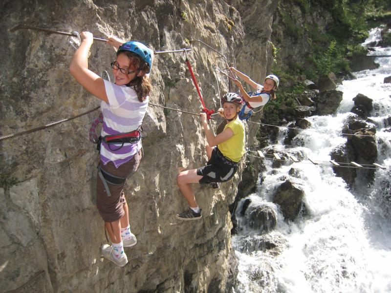 Klettersteig Queyras : Klettersteig camping les ecrins
